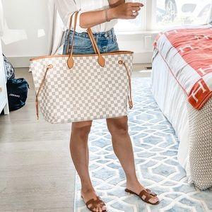 Louis Vuitton Bags - Louis Vuitton Damier Azur Neverfull GM Tote Bag